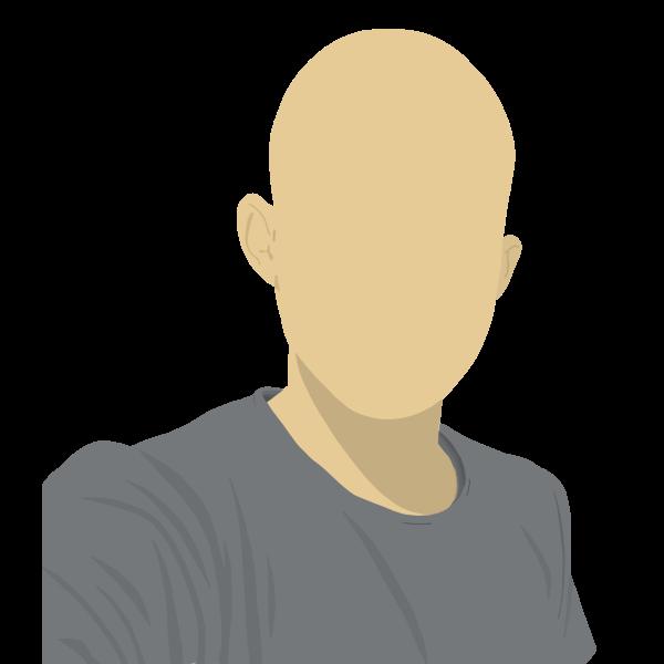 Faceless male avatar
