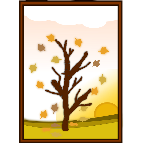 Tree in autumn (#2)