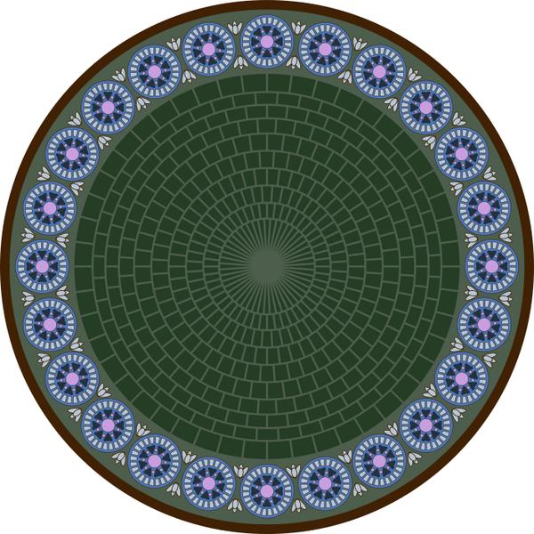 Fancy Mucha Circle