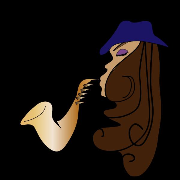 Female jazz musician