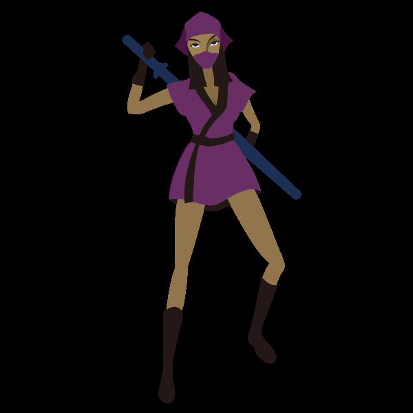 Female Ninja warrior