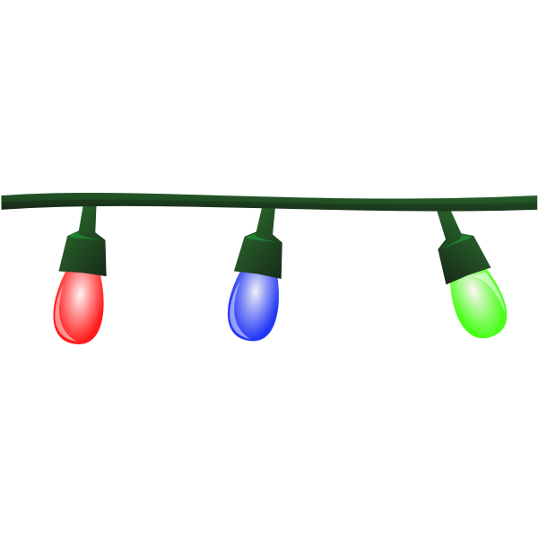 Festive Lights Vector