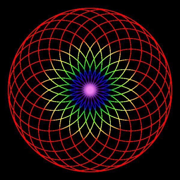 Fibonacci Dual Spiral