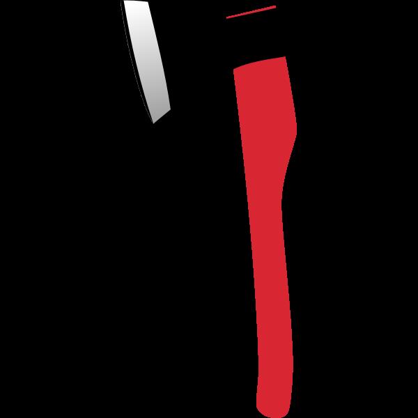 Vector graphics of fire axe