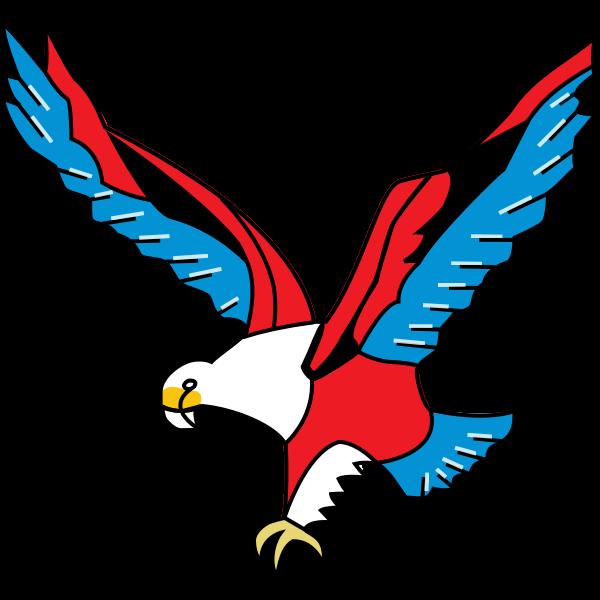 Colorful eagle