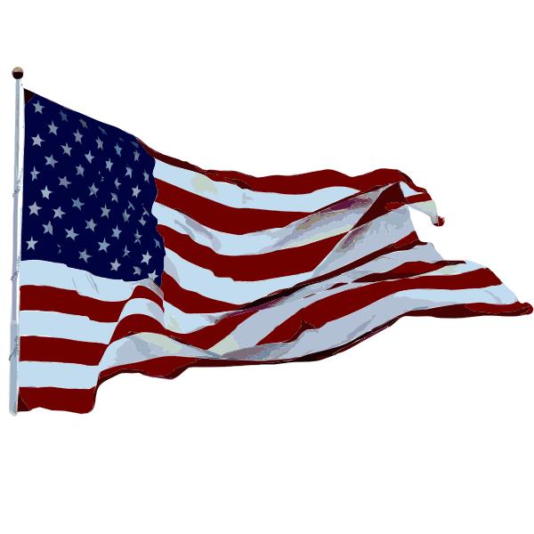 Flag Flying High Daily Sketch 28 2015061610