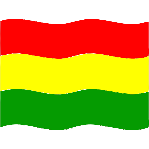 Flag of Bolivia wave 2016081730
