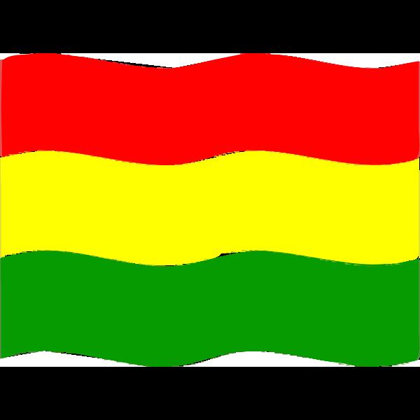 Flag of Bolivia wave 2016081730