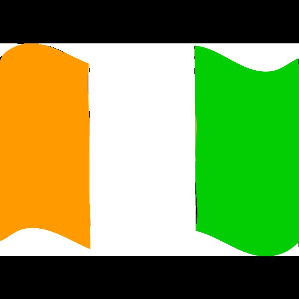 Flag of Cote dIvoire wave 2016081658
