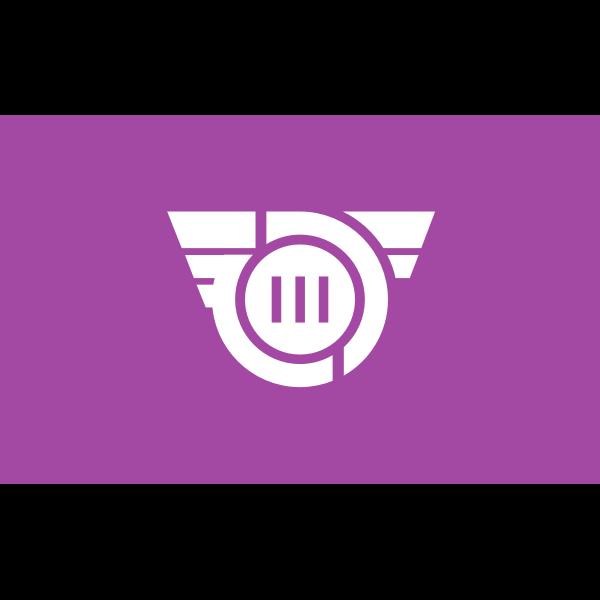 Flag of Former Shibukawa Gunma