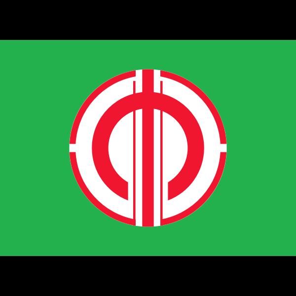 Flag of Haina Gunma