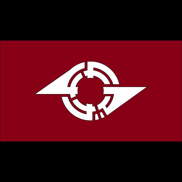 Flag of Kamagaya Chiba