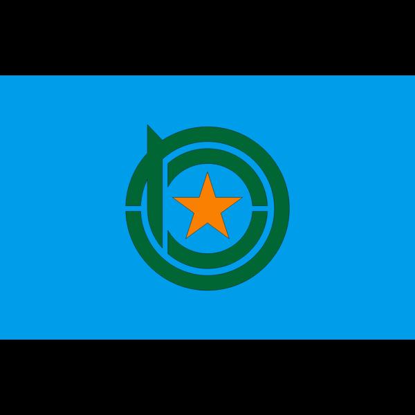 Flag of Kamiyubetsu Hokkaido