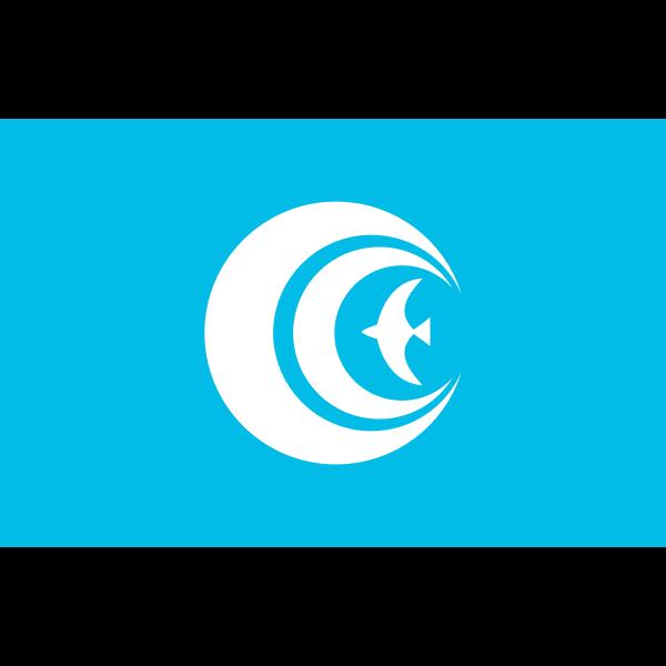 Flag of Kasumigaura Ibaraki