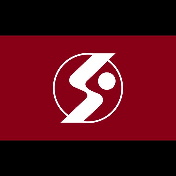 Flag of Kurabuchi Gunma
