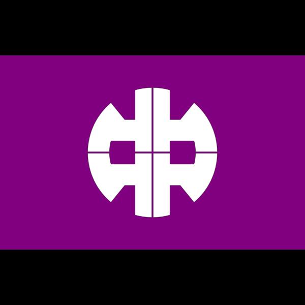 Flag of Nakanojo Gunma