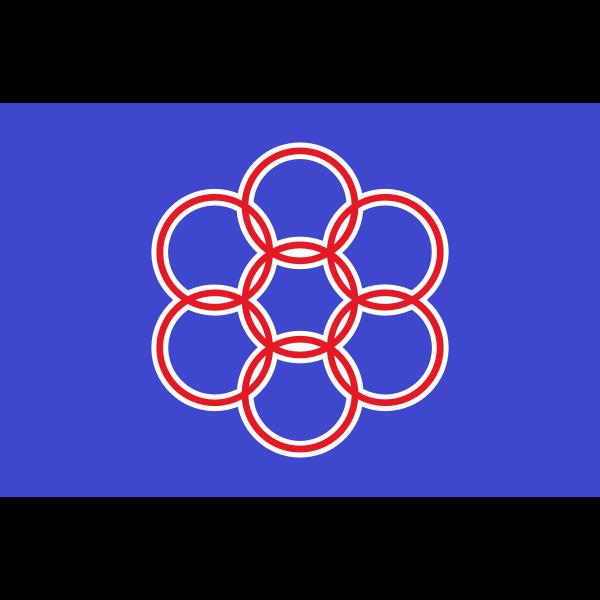 Flag of Nanae Hokkaido