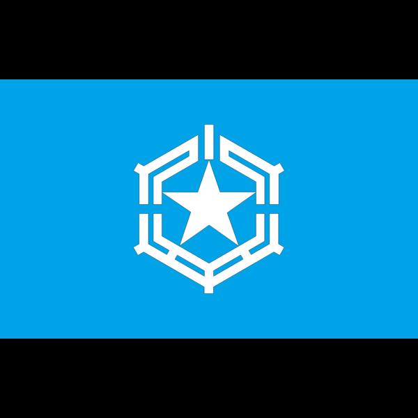 Flag of Obira Hokkaido