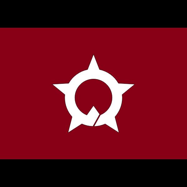 Flag of Ono, Fukui