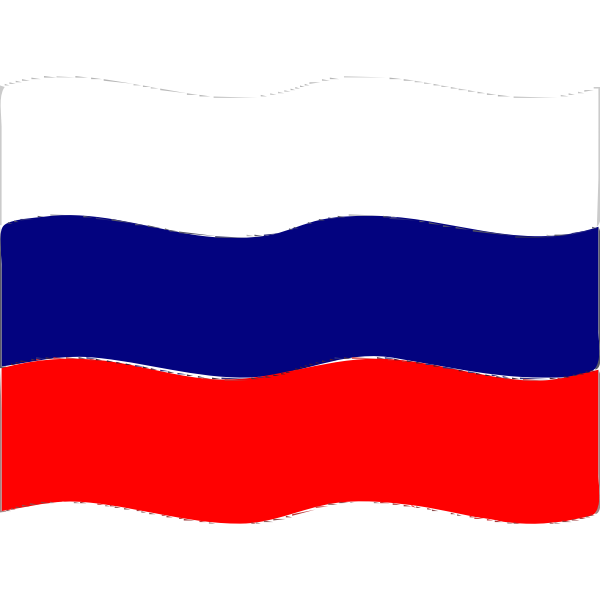 Flag of Russia wave 2016081722