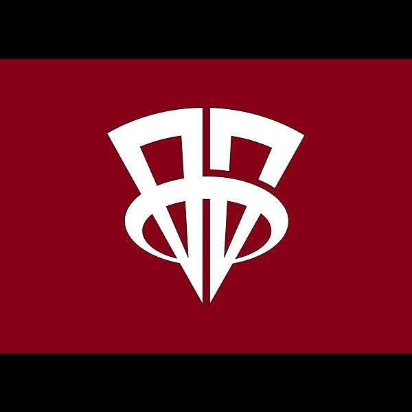 Flag of Showa Gunma
