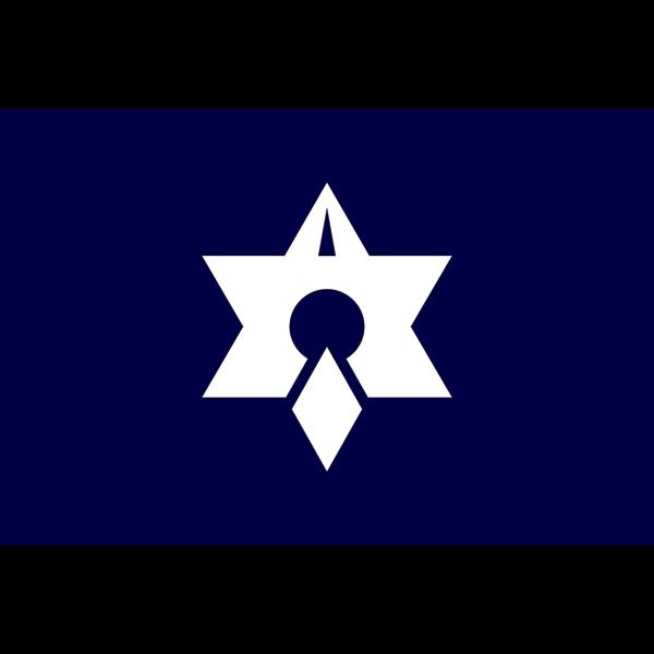 Flag of Takahama, Fukui