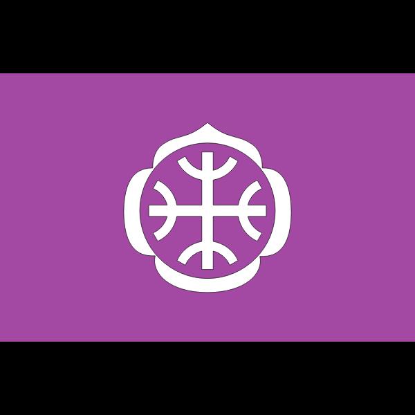 Flag of Tatebayashi Gunma