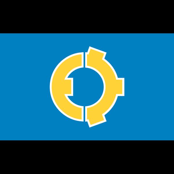 Flag of Tone Gunma