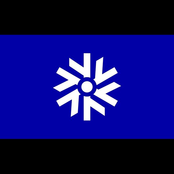 Flag of Toya Hokkaido