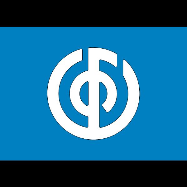 Flag of Ueno Gunma
