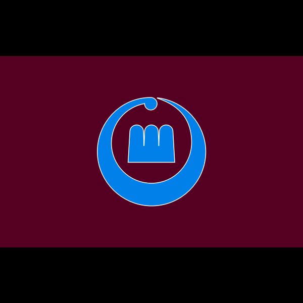 Former flag of Setana Hokkaido