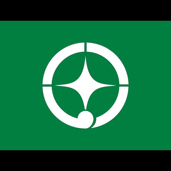 Flag of former Towada Aomori