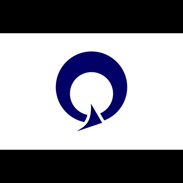 Vector flag of Azuma, Ibaraki