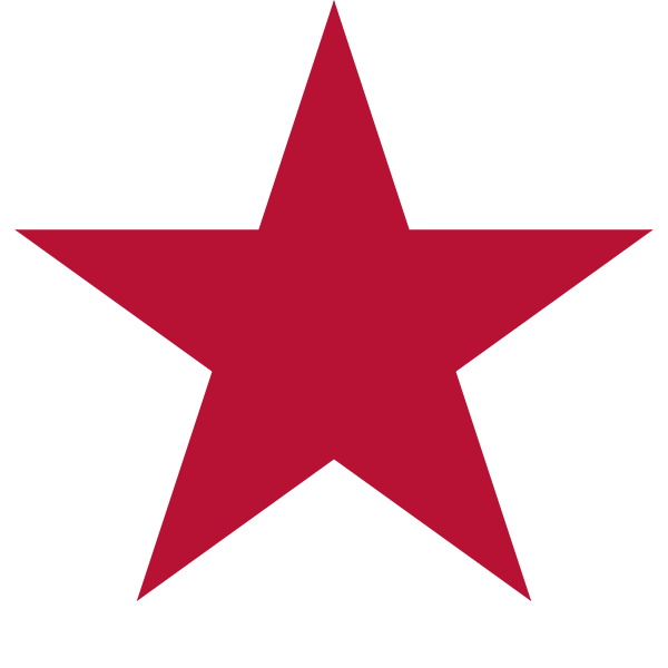 Flag of California - Star