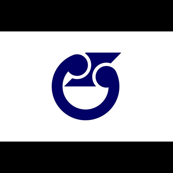 Flag of Edosaki, Ibaraki