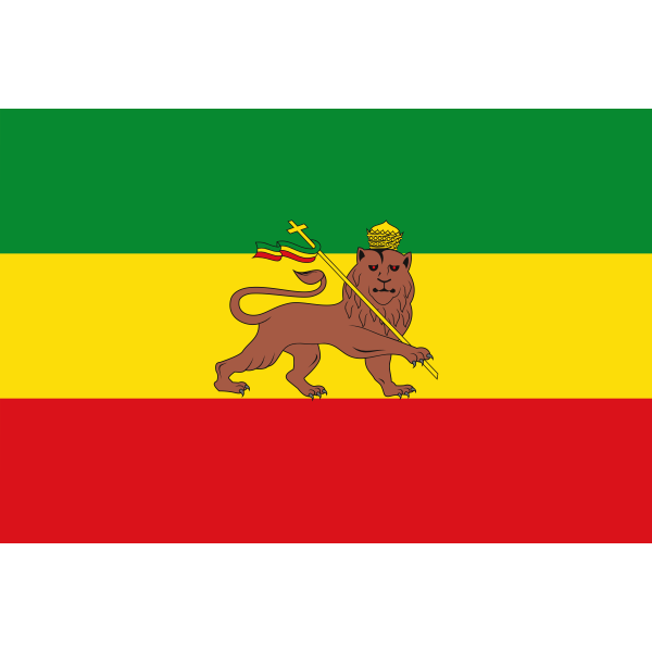 Old Flag of Ethiopia