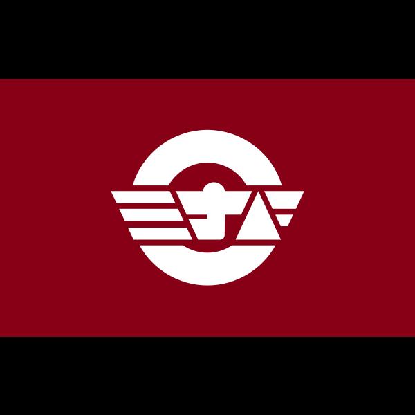 Flag of former Minabe, Wakayama