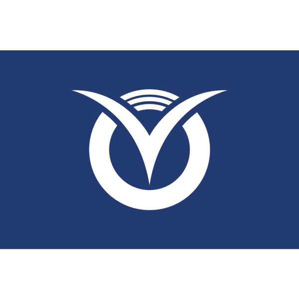 Flag of Futtsu, Chiba