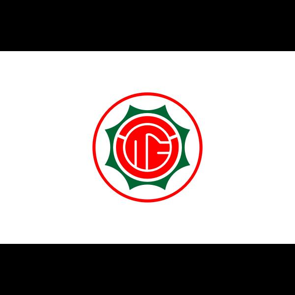 Flag of Hanazono, Saitama