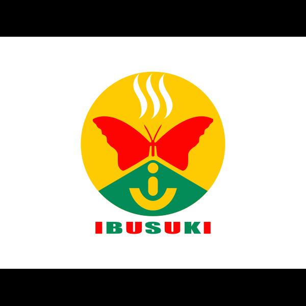 Flag of Ibusuki, Kagoshima