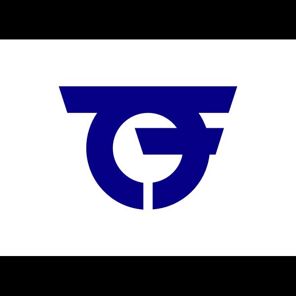 Flag of Ichinomiya-town, Aichi