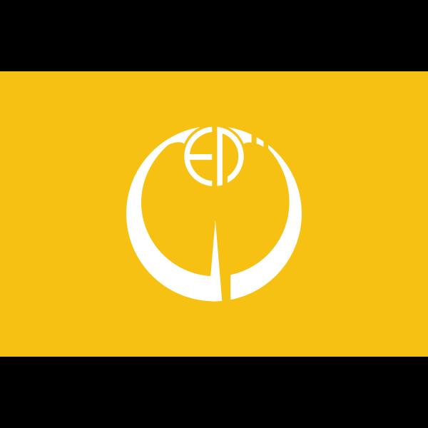 Flag of Inba, Chiba