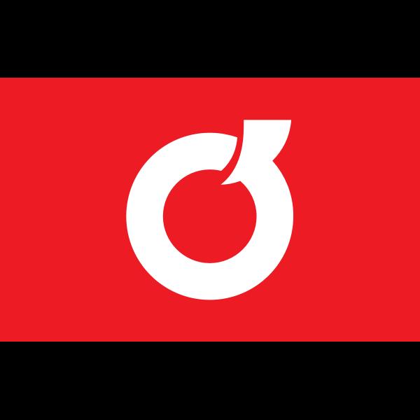 Flag of Itayanagi, Aomori