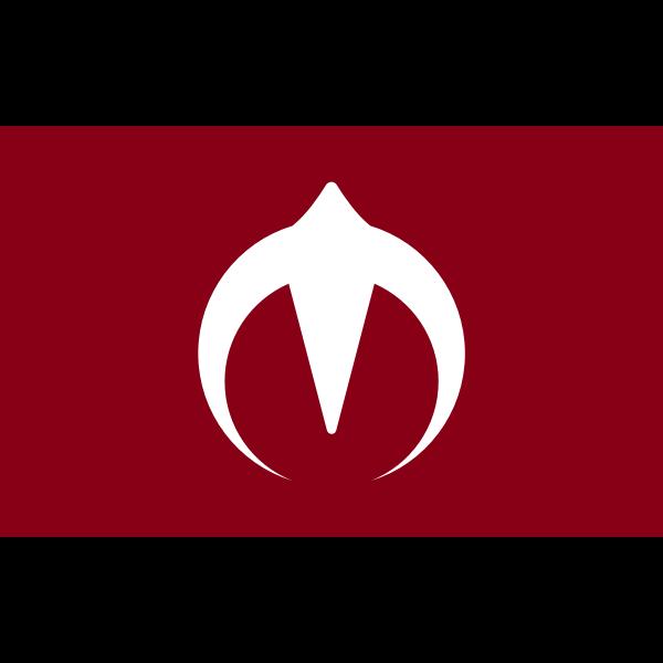 Flag of Jumonji, Akita