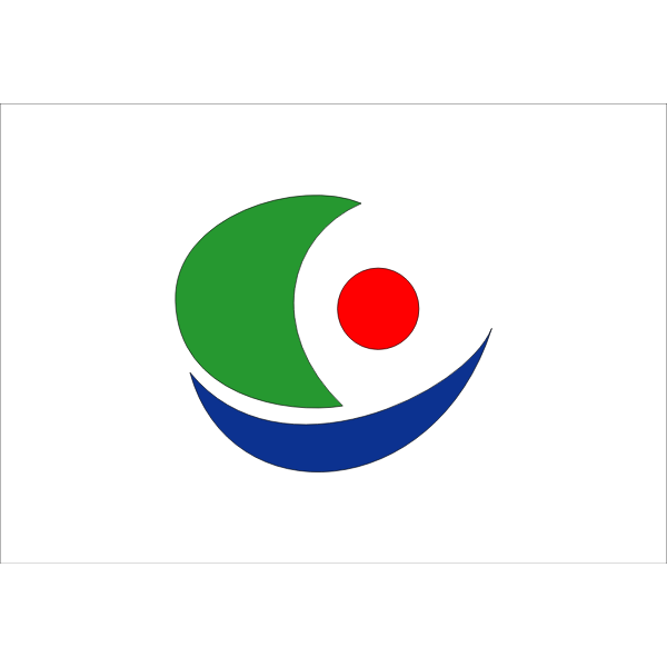 Flag of Kamijima, Ehime