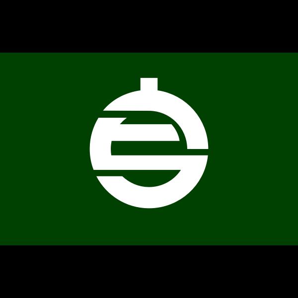 Flag of Kamiura, Ehime