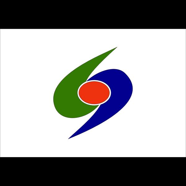 Flag of Kumakogen, Ehime
