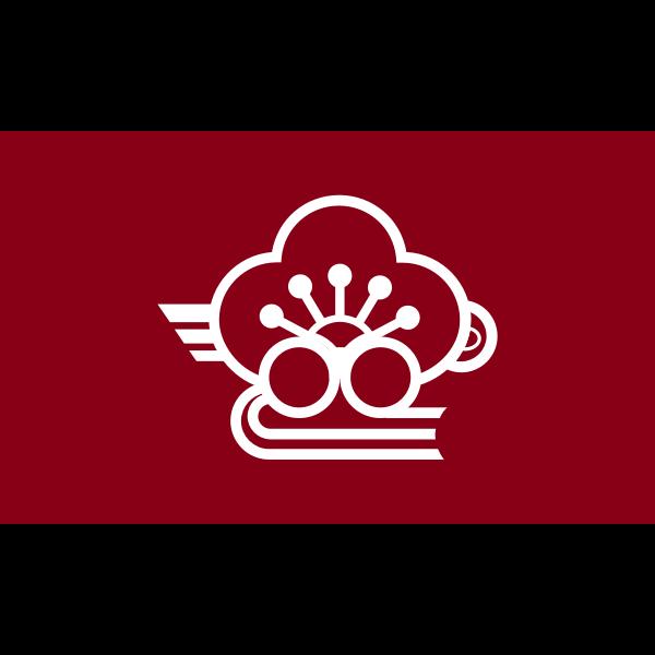 Flag of Minabegawa, Wakayama