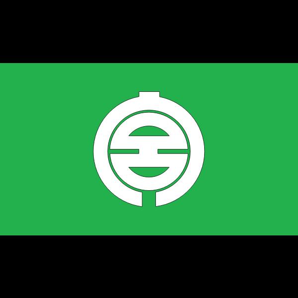Flag of Miyakubo, Ehime