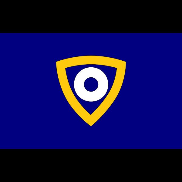 Flag of Nagahama, Ehime